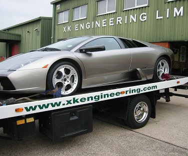 Example of a car worked on by XK Engineering